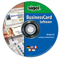 SIGEL BusinessCard Software Demoversion