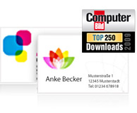 Software Download Visitenkarten Erstellen Sigel