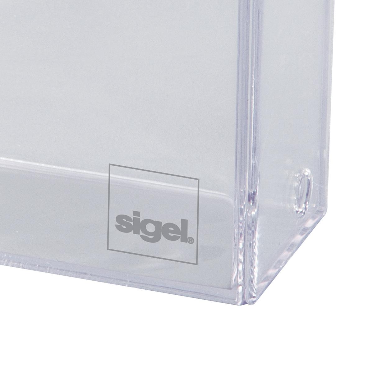 Visitenkarten Box Sigel