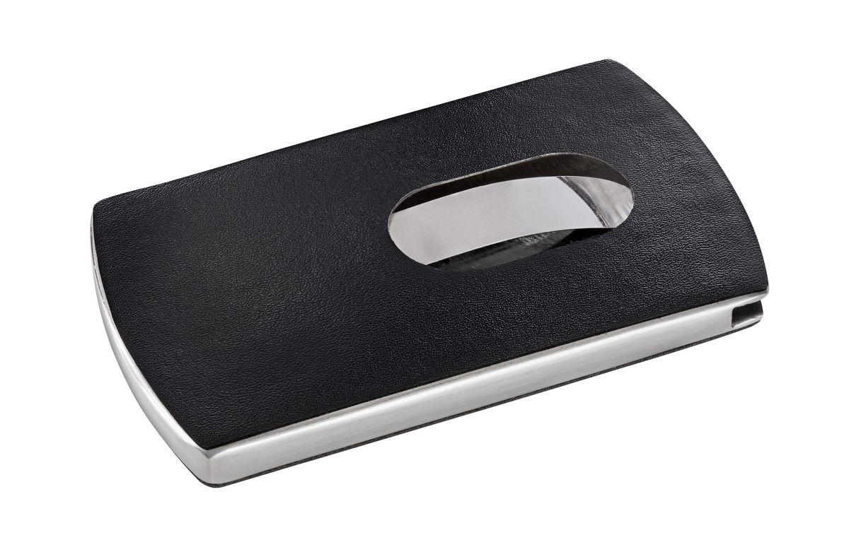 visitenkarten etui snap lederoptik sigel. Black Bedroom Furniture Sets. Home Design Ideas