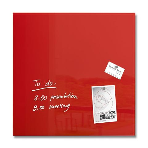 GL114-W-Glasmagnetboard-artverum-red