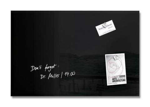 GL120-W-Glasmagnetboard-artverum-black