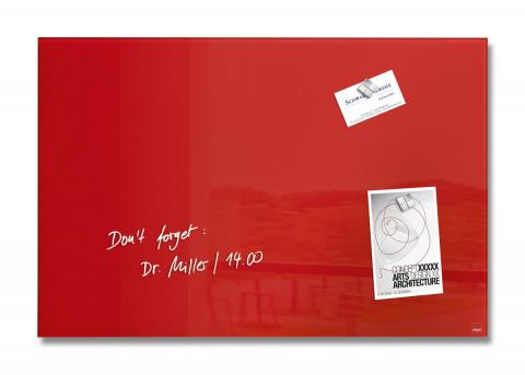GL122-W-Glasmagnetboard-artverum-red