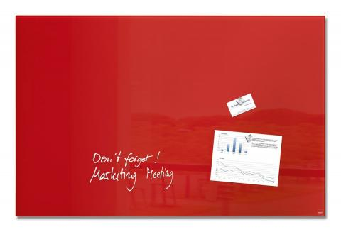 GL142-W-Glasmagnetboard-artverum-red