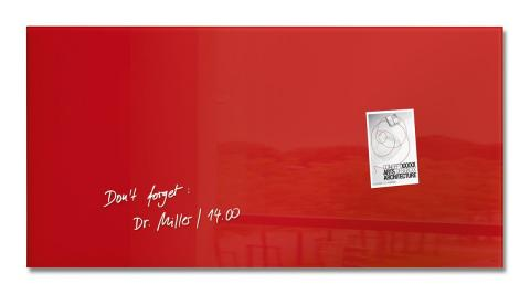 GL147-W-Glasmagnetboard-artverum-red