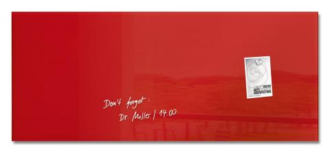 GL242-W-Glasmagnetboard-artverum-red