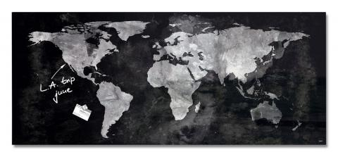 GL246-W-Glasmagnetboard-artverum-World-Map