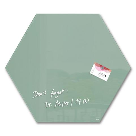 GL281-W-Glasmagnetboard-artverum-Smoky-Green