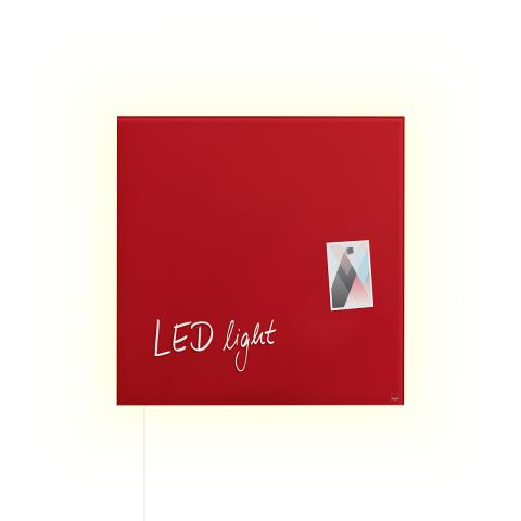GL402-W-LED-Glasmagnetboard-artverum-red