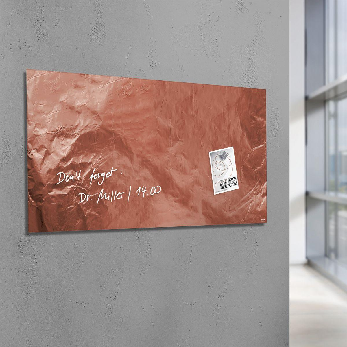 GL269-Glasmagnetboard-artverum-Pure-Copper-ambiente-01-A1