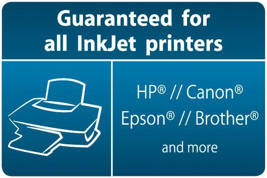 Guaranteed For InkJet klein