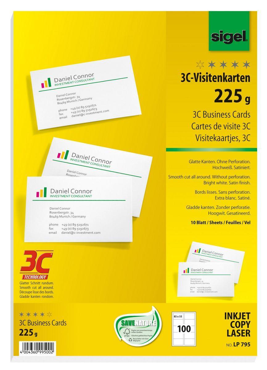 Visitenkarten 3c Sigel