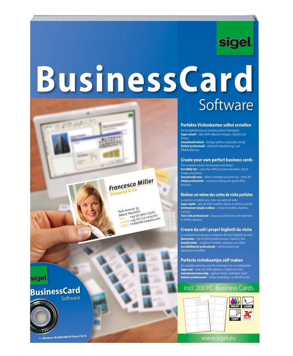 Businesscard Software Gestaltungs Software Für Visitenkarten