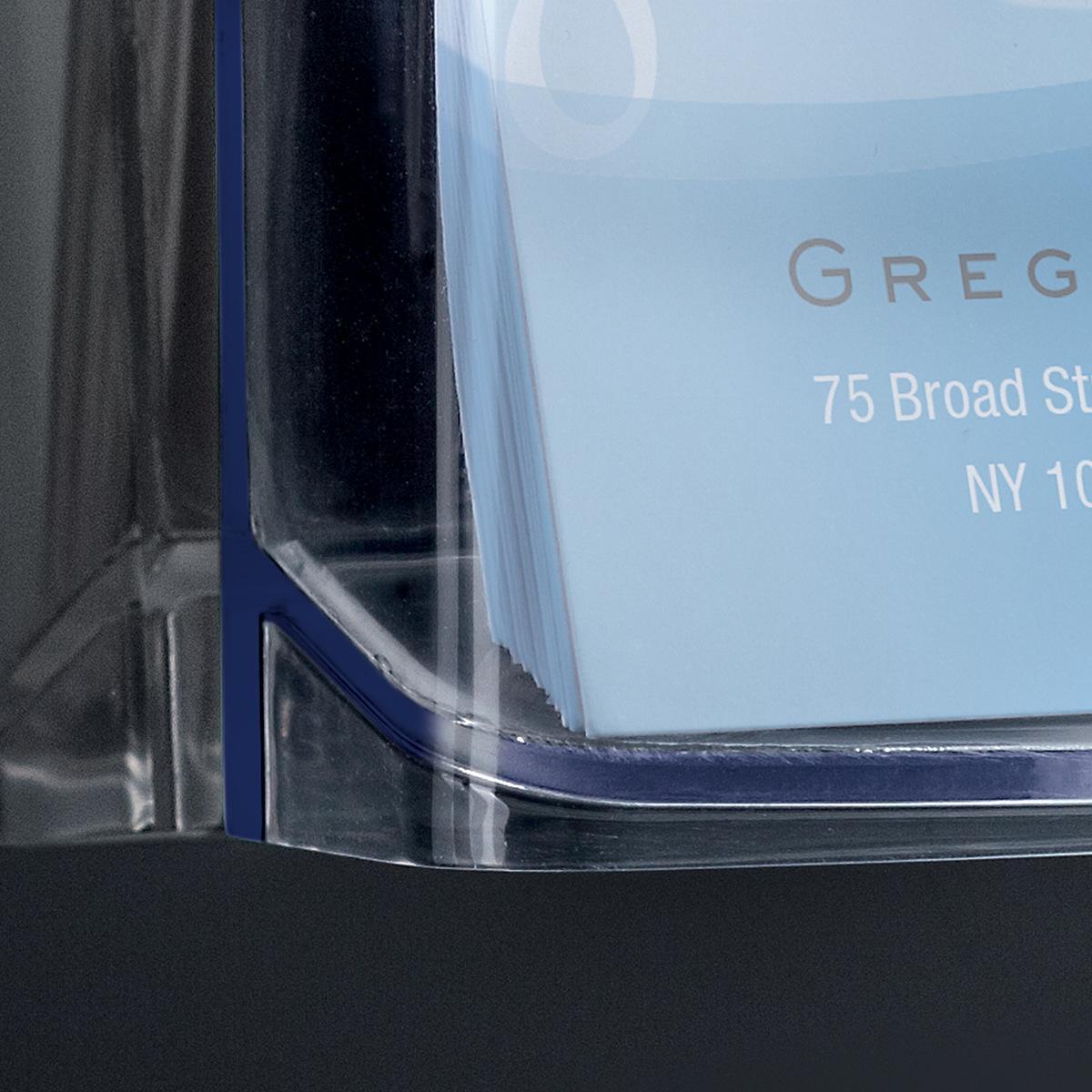 Outdoor Visitenkartenhalter Acrylic Sigel