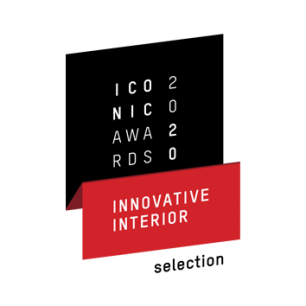 Award Auszeichnung Iconic Awards 2020 Innovative Interior Selection