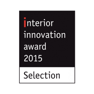 Award Auszeichnung Interior Innovation Award 2015